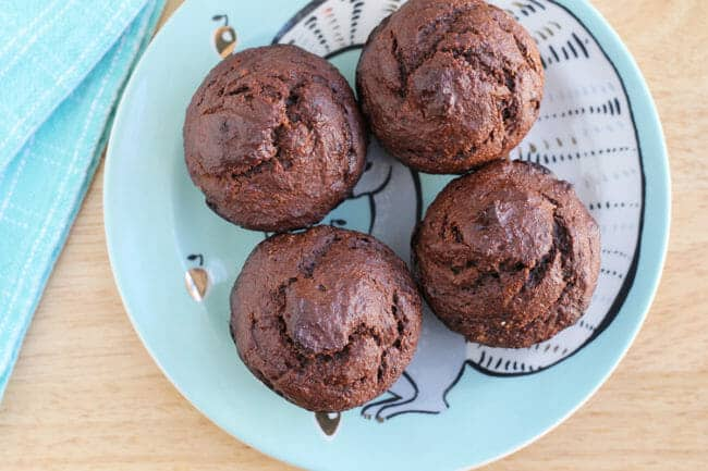 Chocolate Muffin Recipe with Peanut Butter