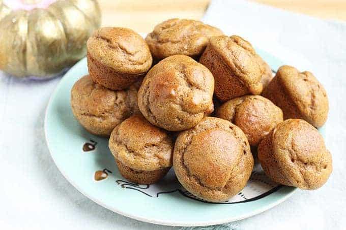 gluten free healthy pumpkin muffins