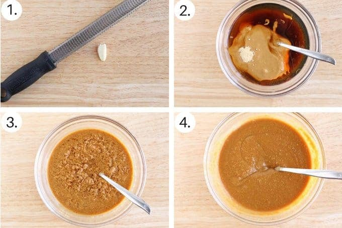 process of making peanut sauce step by step