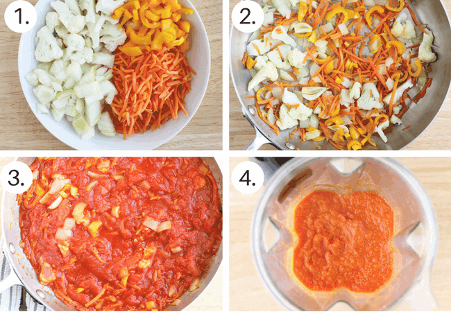 How to make easy marinara sauce Step by Step process