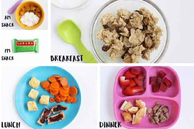 daily toddler meals day 3