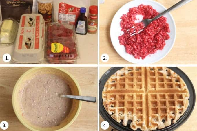 how-to-make-raspberry-waffles-step-by-step