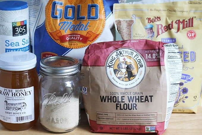 ingredients in whole wheat no knead bread