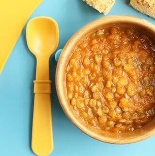 lentil soup with veggies