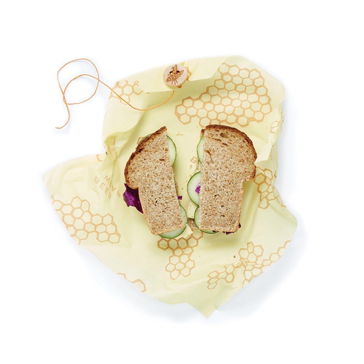 beeswrap reusable food storage wrap