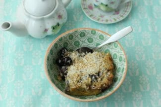 Overnight Coconut Cream Baked Oatmeal