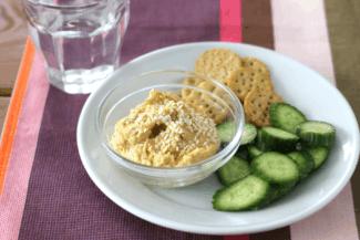 Easy Butternut Squash Hummus