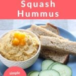 butternut squash hummus pin