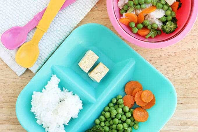 easy green curry dinner