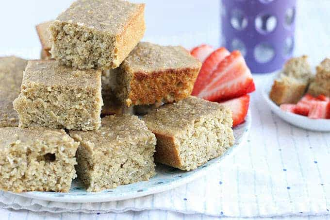 healthy flourless banana bread