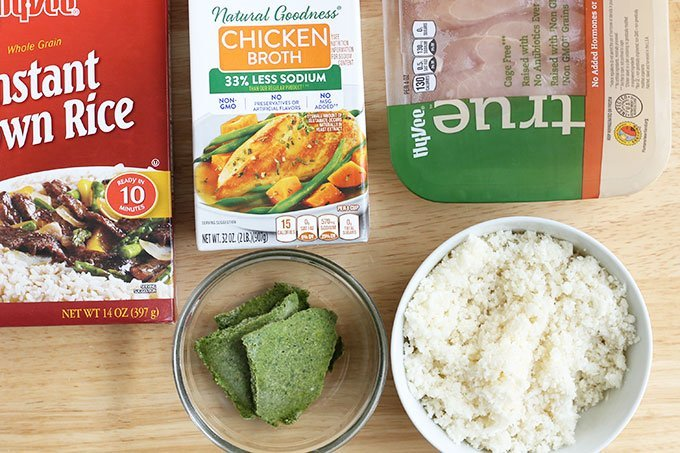 ingredients in chicken and brown rice