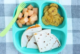 Vegetarian Quesadilla Recipe with Sweet Potato