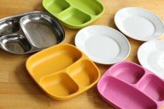 Best Toddler Plates: Divided Plates, Suction Plates, and Stainless Steel