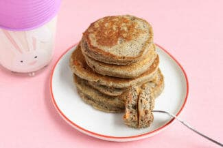 Healthy Pancakes with Carrots and Yogurt