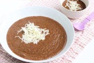 30-Minute Vegetarian Black Bean Soup