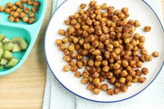 Soft Roasted Chickpeas Recipe: A Salty-Sweet Kid Snack
