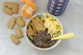 Toddler-Friendly Slow Cooker Black Bean Soup