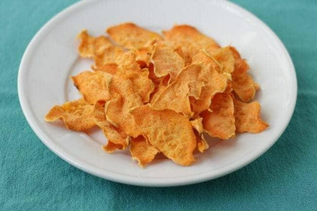 Easy-Baked Sweet Potato Chips