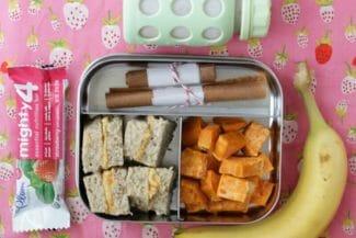 Hummus Sandwich Toddler Lunch