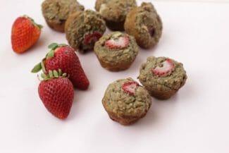 Gluten-Free Strawberry Mini Muffins
