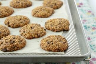 Whole Grain Chocolate Chip Cookies
