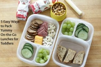 Easy Methods for Packing Toddler Lunches