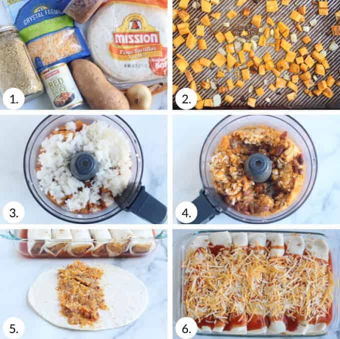 how-to-make-enchiladas step by step