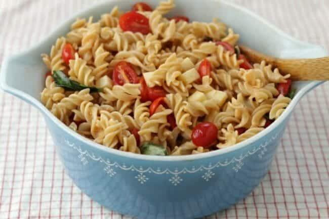 Fresh Tomato-Basil Pasta Salad