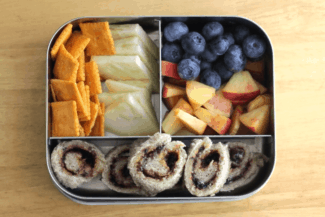 Sandwich Spirals Toddler Lunch