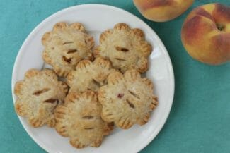 Peach Hand Pies {Lower Sugar}
