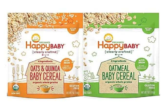 habby babies clearly crafted baby cereal