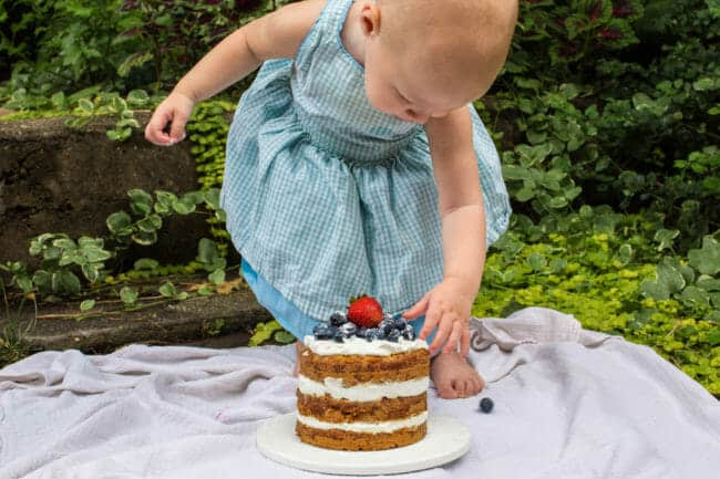 toddler first birthday cake