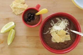 Easy 30-Minute Black Bean Soup