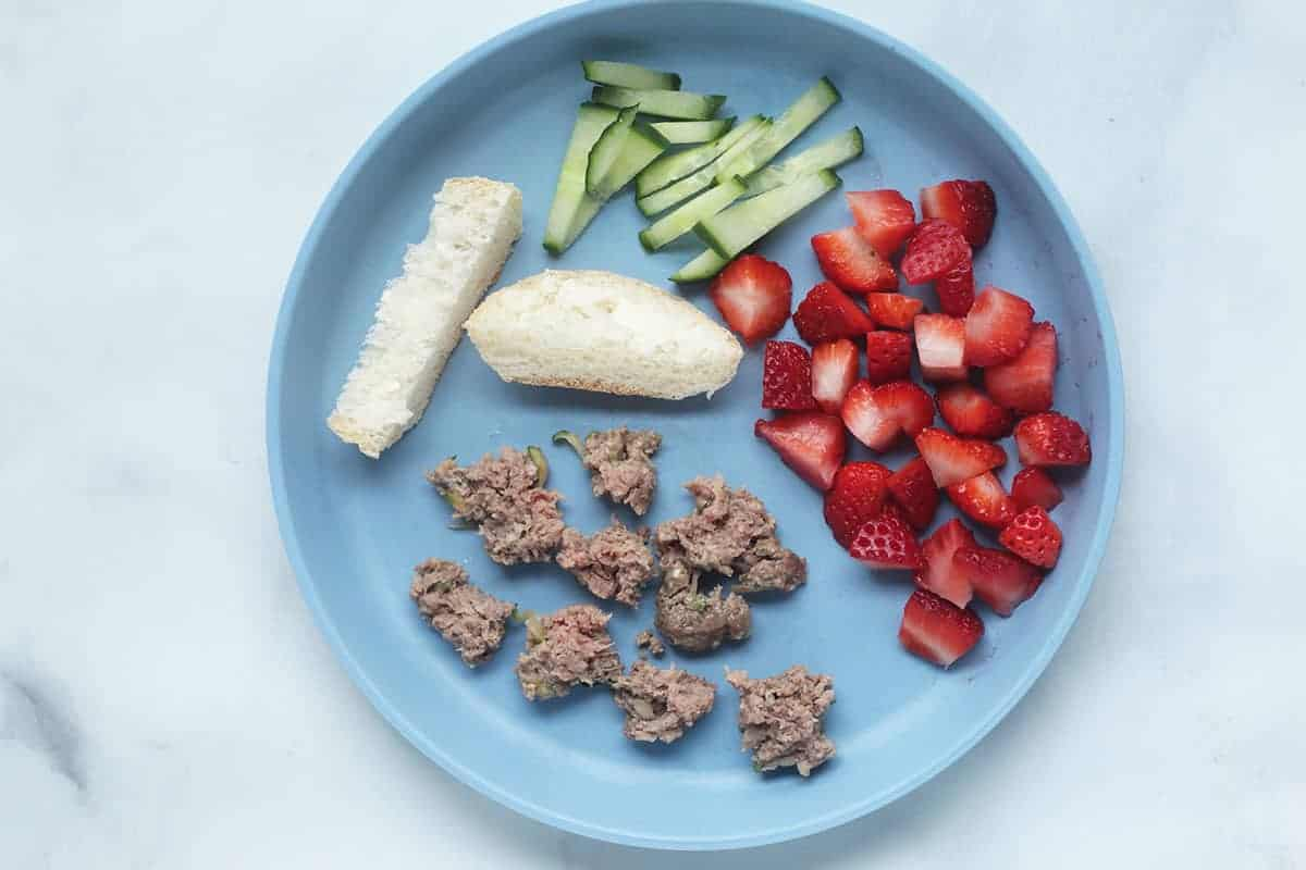 diced-zucchini-burger-for-toddler
