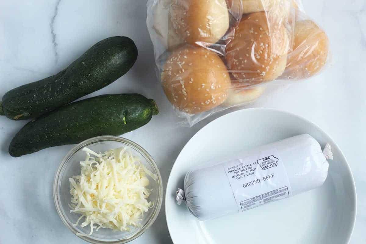 ingredients-in-zucchini-burgers