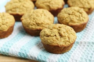 Butternut Squash Muffins (Whole Grains, Low Sugar)