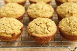 Butternut Squash Muffins (Whole Grains, Low Sugar)