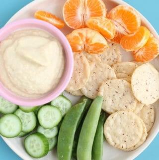 homemade hummus without tahini