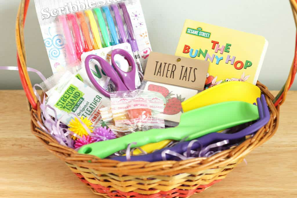 Easy easter basket ideas for toddlers toddler easter basket negle Images