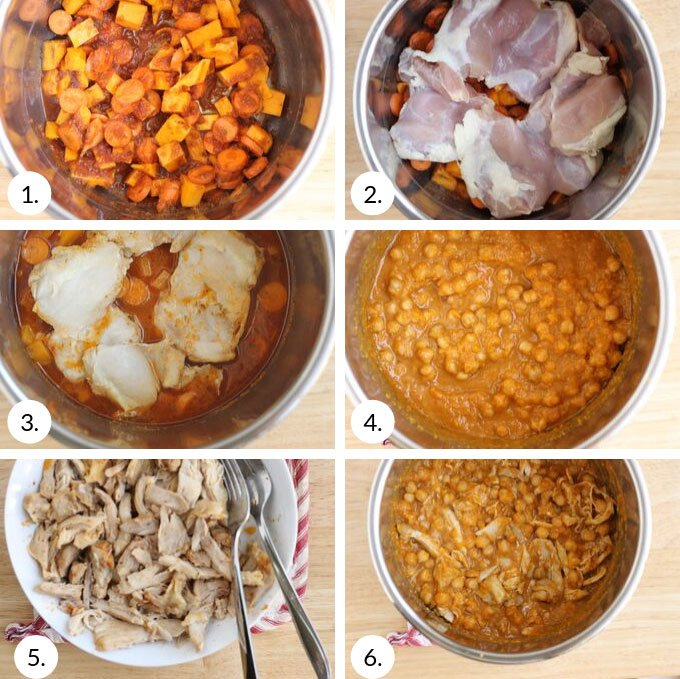 how to make chicken and bean tacos step by step