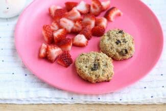 banana raisin breakfast cookies