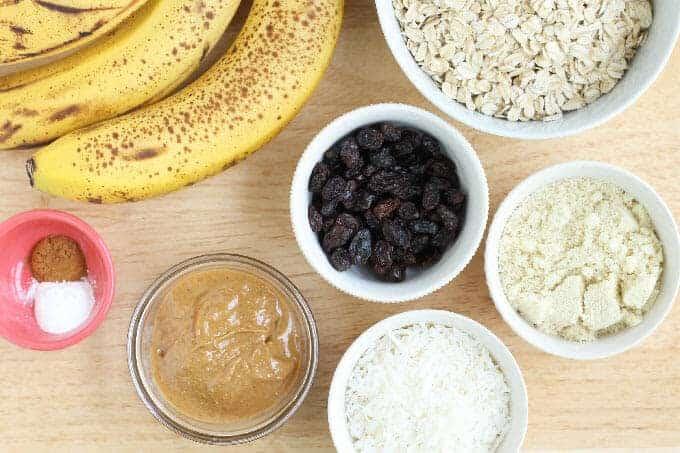 breakfast cookie ingredients