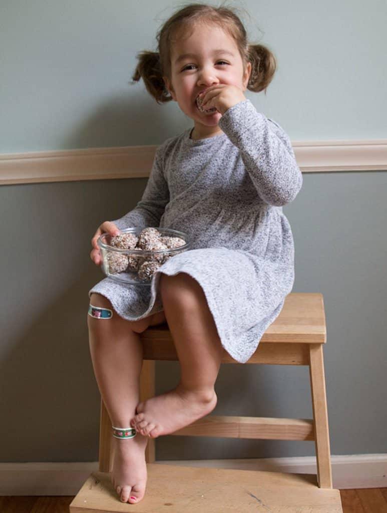 toddler-eating-energy-bites