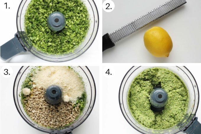 how to make broccoli pesto step by step