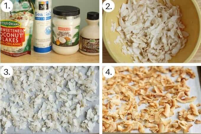 how to make coconut chips step by step