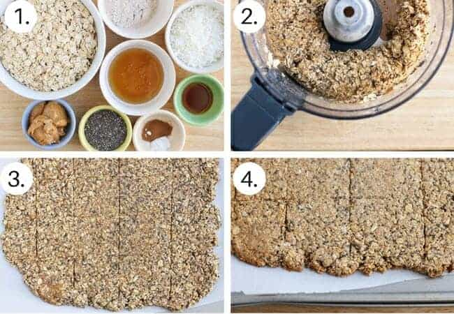 How to make homemade granola bars Step by Step