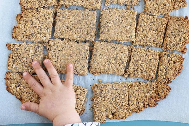 Healthy Homemade Granola Bars (Allergy-Friendly)