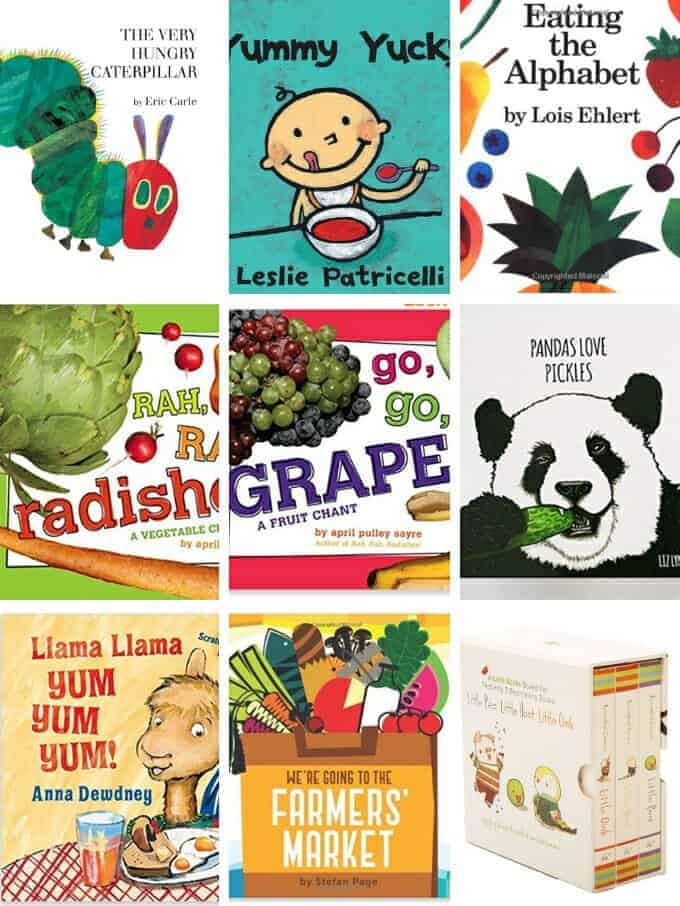 best board books about food