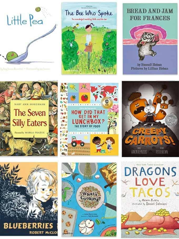 best books about food for big kids
