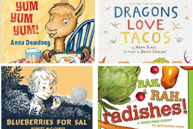 best books about food for children